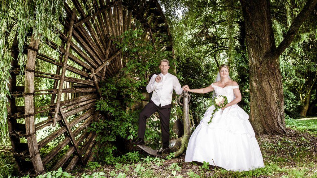 Hochzeit am Wasserrad